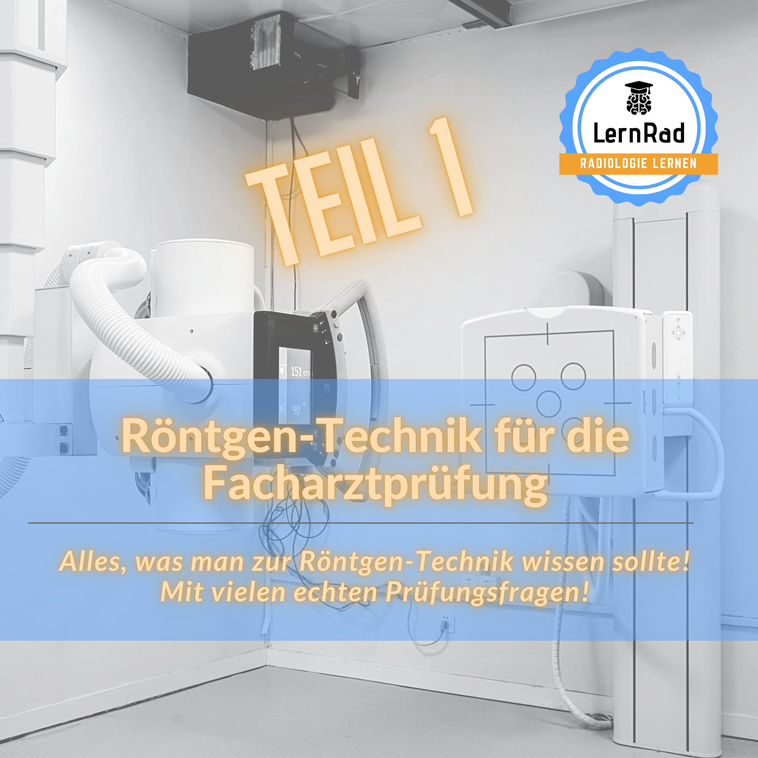 Kachel Roentgen Technik FA Teil 1